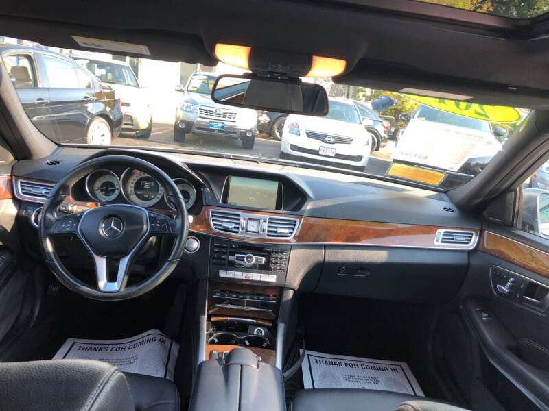 2014 Mercedes-Benz E-Class AWD E 350 Sport 4MATIC 4dr Sedan - Haverhill MA