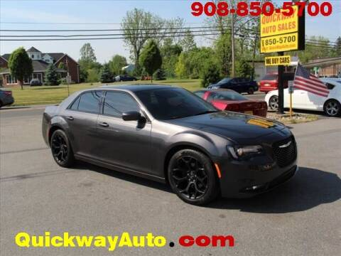2019 Chrysler 300 for sale at Quickway Auto Sales in Hackettstown NJ