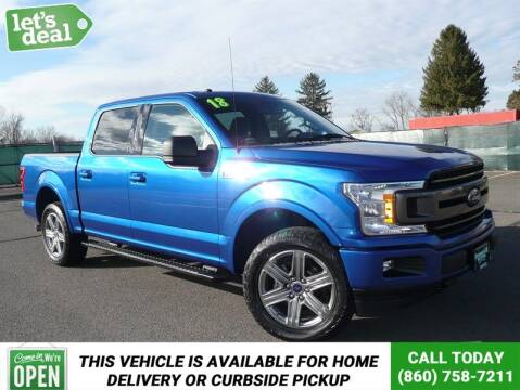 2018 Ford F-150 for sale at Shamrock Motors in East Windsor CT