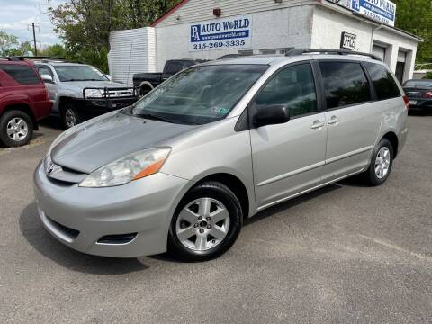 2008 Toyota Sienna for sale at PA Auto World in Levittown PA