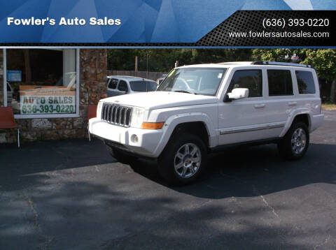 2010 Jeep Commander for sale at Fowler's Auto Sales in Pacific MO