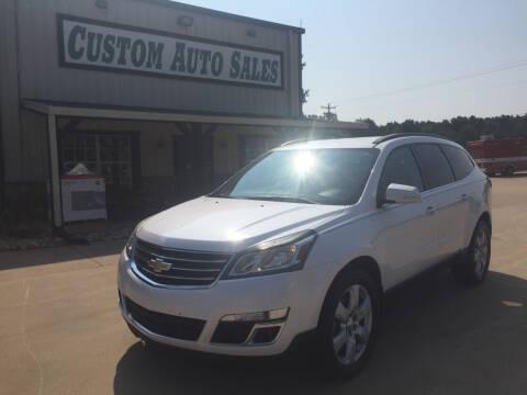 2016 Chevrolet Traverse for sale at Custom Auto Sales - AUTOS in Longview TX