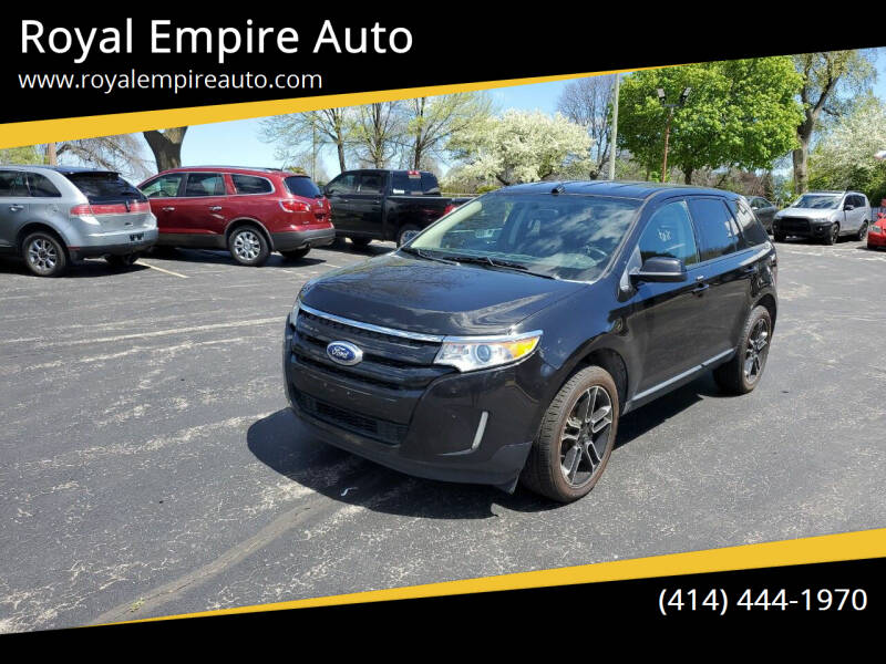 2013 Ford Edge for sale at Royal Empire Auto in Milwaukee WI
