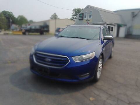 2013 Ford Taurus for sale at Irving Auto Sales in Whitman MA