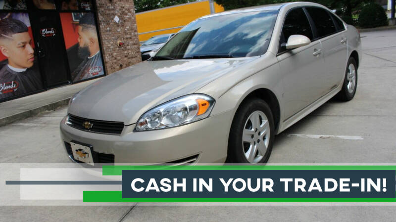 2009 Chevrolet Impala for sale at NORCROSS MOTORSPORTS in Norcross GA
