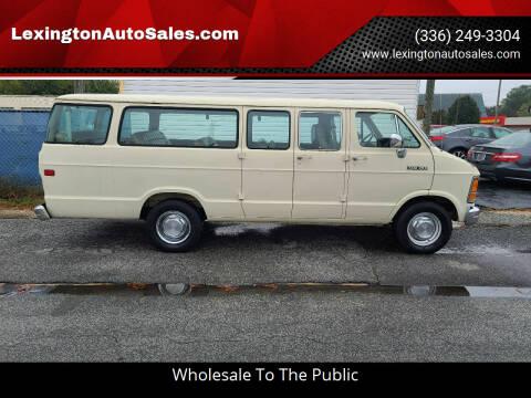 1992 Dodge Ram Wagon for sale at LexingtonAutoSales.com in Lexington NC