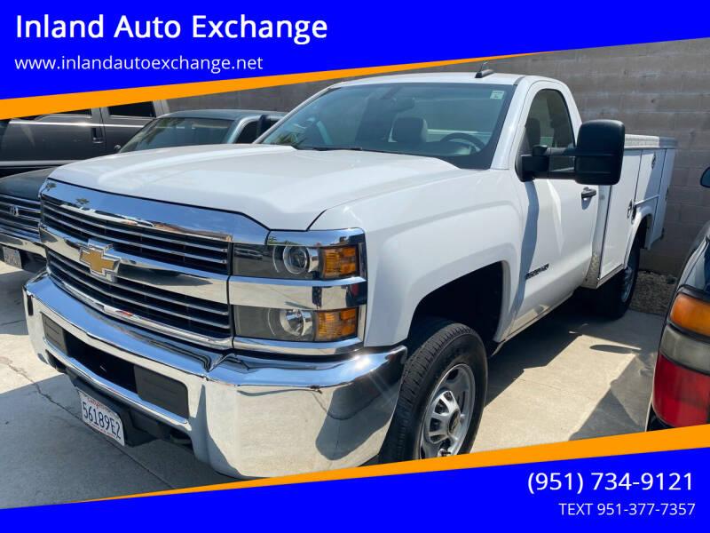 2017 Chevrolet Silverado 2500HD for sale at Inland Auto Exchange in Norco CA