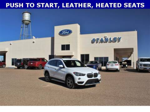 2018 BMW X1 for sale at STANLEY FORD ANDREWS in Andrews TX