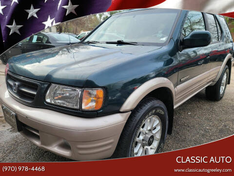 2001 Honda Passport for sale at Classic Auto in Greeley CO