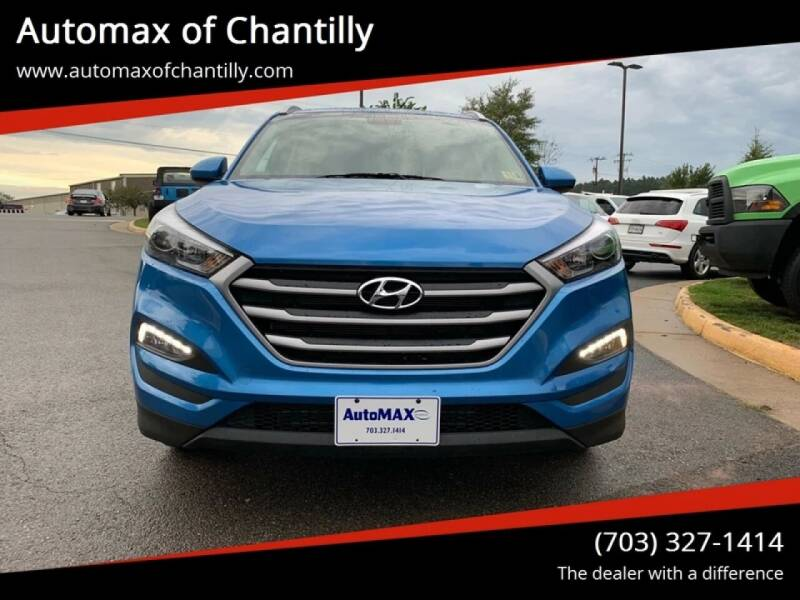 2018 Hyundai Tucson for sale at Automax of Chantilly in Chantilly VA