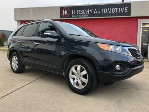 2013 Kia Sorento for sale at Hirschy Automotive in Fort Wayne IN
