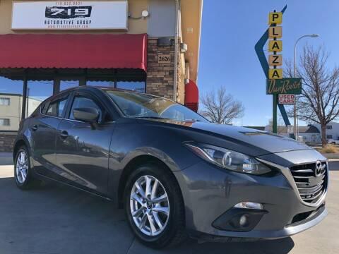 2015 Mazda MAZDA3 for sale at 719 Automotive Group in Colorado Springs CO