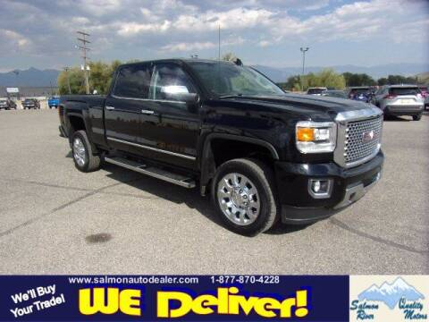 2017 GMC Sierra 2500HD for sale at QUALITY MOTORS in Salmon ID