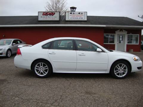 2012 Chevrolet Impala for sale at G and G AUTO SALES in Merrill WI