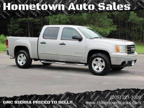 2007 GMC Sierra 1500 for sale at Hometown Auto Sales - Trucks in Jasper AL