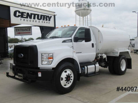 2018 Ford F-750 Super Duty for sale at CENTURY TRUCKS & VANS in Grand Prairie TX