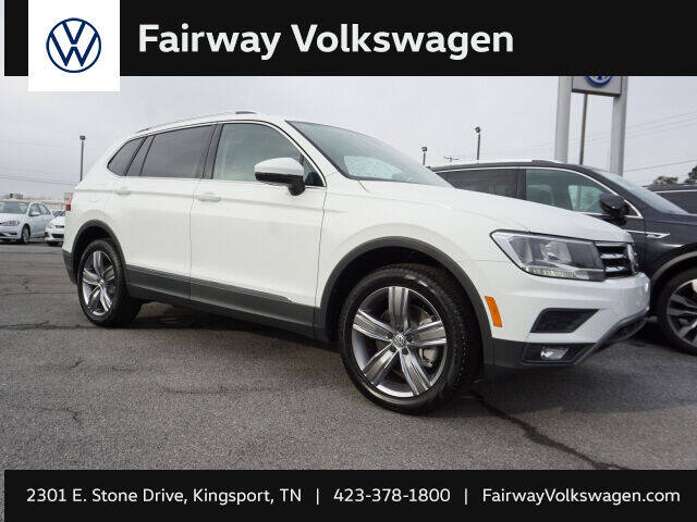 2021 Volkswagen Tiguan for sale at Fairway Ford in Kingsport TN