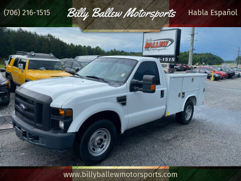 2010 Ford F-250 Super Duty for sale at Billy Ballew Motorsports in Dawsonville GA