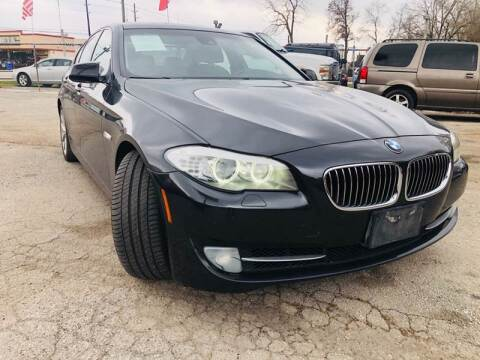 2011 BMW 5 Series for sale at Lion Auto Finance in Houston TX