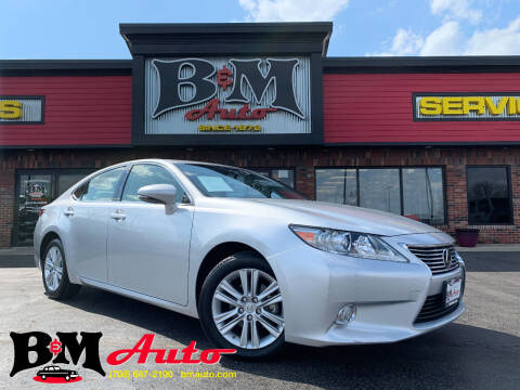 2014 Lexus ES 350 for sale at B & M Auto Sales Inc. in Oak Forest IL
