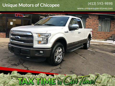2016 Ford F-150 for sale at Unique Motors of Chicopee in Chicopee MA