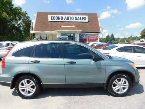 2011 Honda CR-V for sale at Econo Auto Sales Inc in Raleigh NC