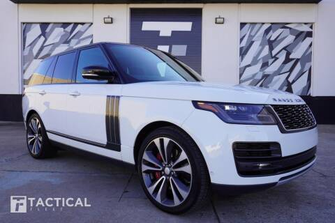 2018 Land Rover Range Rover for sale at Tactical Fleet in Addison TX