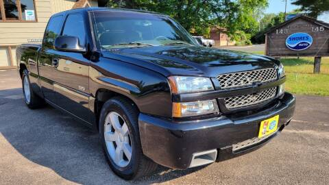 2003 Chevrolet Silverado 1500 SS for sale at Shores Auto in Lakeland Shores MN