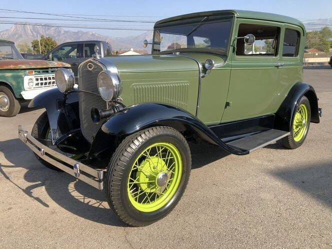 1931 Ford Crown Victoria for sale at Classic Car Deals in Cadillac MI