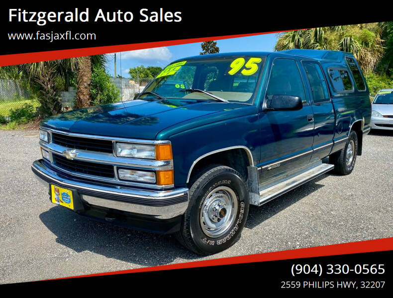 1995 Chevrolet C/K 1500 Series for sale at Fitzgerald Auto Sales in Jacksonville FL
