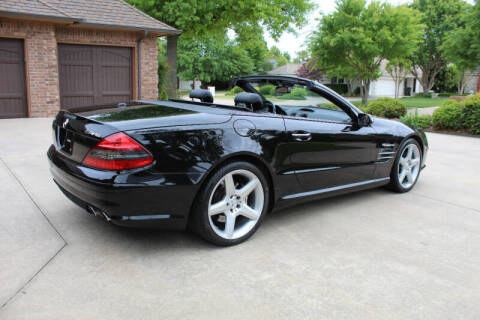 2008 Mercedes-Benz SL-Class for sale at CANTWEIGHT CLASSICS in Maysville OK