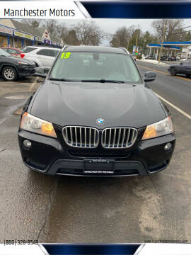 2013 BMW X3 for sale at Manchester Motors in Manchester CT