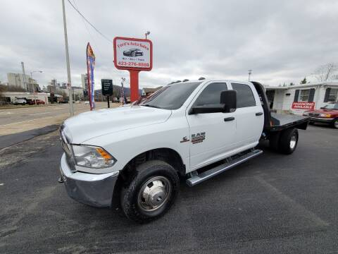 2017 RAM Ram Chassis 3500 for sale at Ford's Auto Sales in Kingsport TN