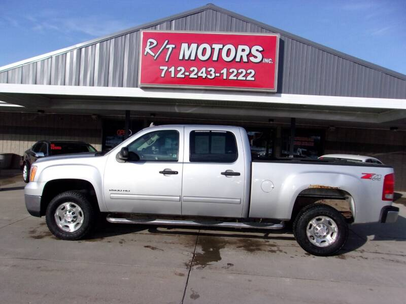 2010 GMC Sierra 2500HD for sale at RT Motors Inc in Atlantic IA