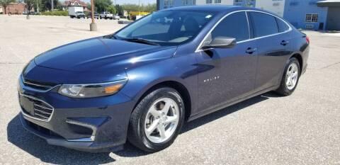 2016 Chevrolet Malibu for sale at JC Auto Sales LLC in Wichita KS