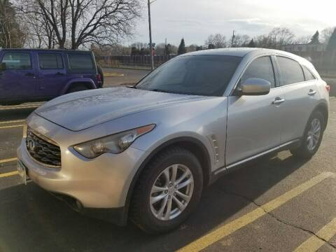 2009 Infiniti FX35 for sale at Capital Fleet  & Remarketing  Auto Finance in Columbia Heights MN