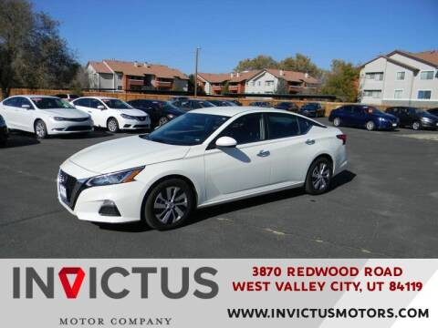 2019 Nissan Altima for sale at INVICTUS MOTOR COMPANY in West Valley City UT