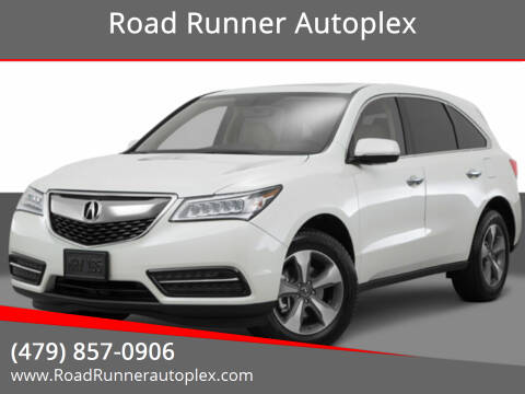2016 Acura MDX for sale at Road Runner Autoplex in Russellville AR