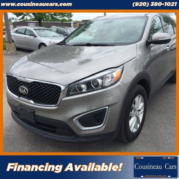 2017 Kia Sorento for sale at CousineauCars.com in Appleton WI