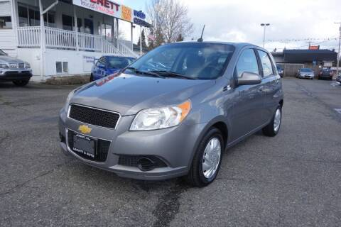 2010 Chevrolet Aveo for sale at Leavitt Auto Sales and Used Car City in Everett WA