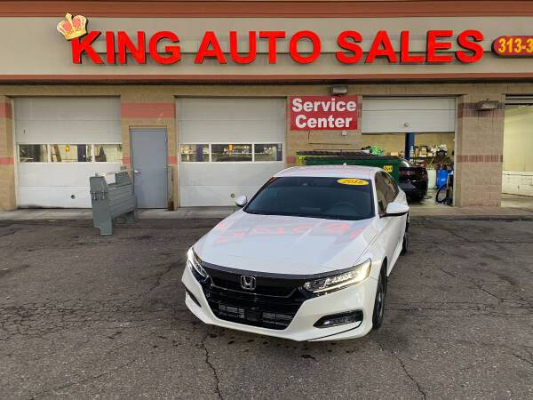 2018 Honda Accord for sale at KING AUTO SALES  II in Detroit MI