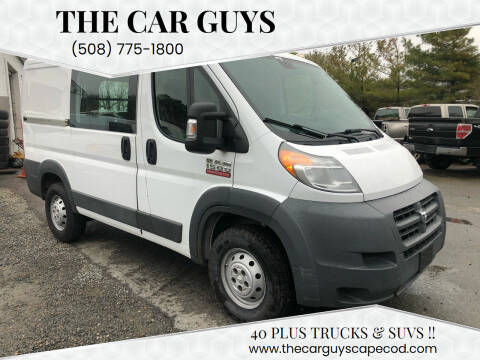 2014 RAM ProMaster Cargo for sale at The Car Guys in Hyannis MA