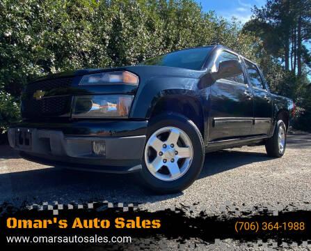 2012 Chevrolet Colorado for sale at Omar's Auto Sales in Martinez GA