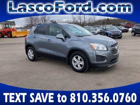 2015 Chevrolet Trax for sale at Lasco of Grand Blanc in Grand Blanc MI