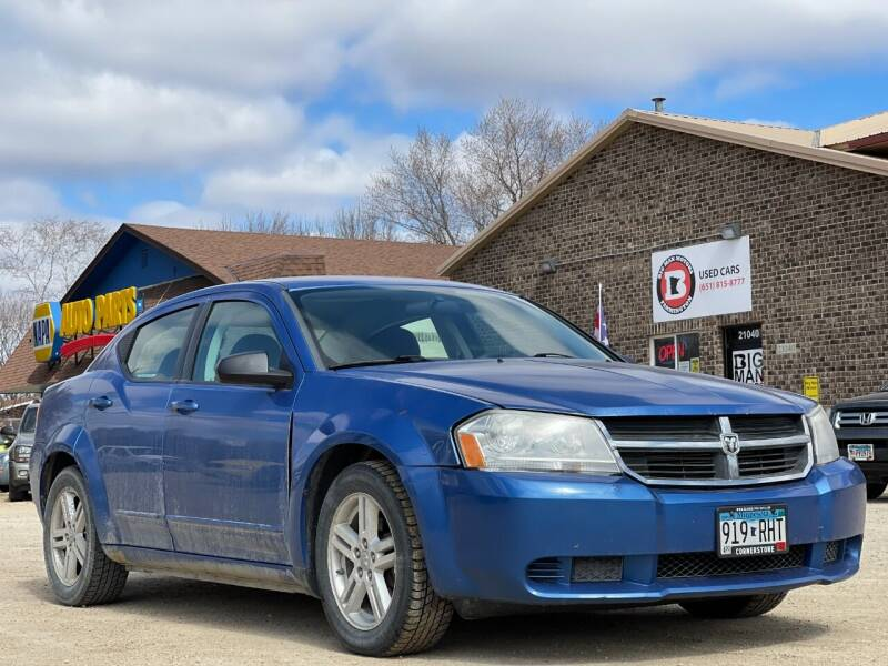 2008 Dodge Avenger for sale at Big Man Motors in Farmington MN