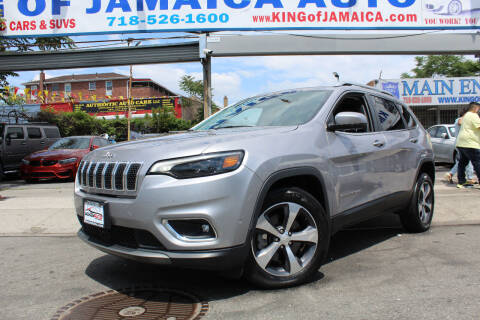 2019 Jeep Cherokee for sale at MIKEY AUTO INC in Hollis NY