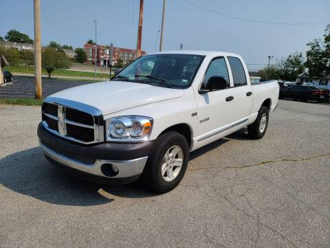 2008 Dodge Ram Pickup 1500 for sale at Auto Hub in Grandview MO