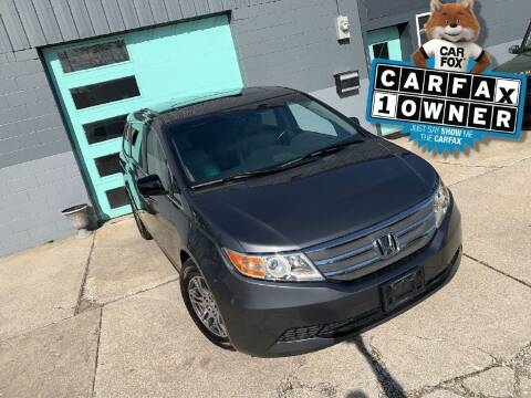 2012 Honda Odyssey for sale at Enthusiast Autohaus in Sheridan IN