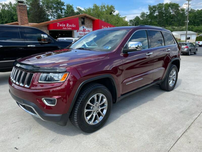 2016 Jeep Grand Cherokee for sale at Twin Rocks Auto Sales LLC in Uniontown PA