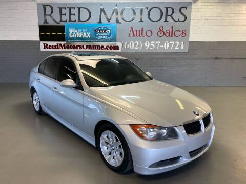 2006 BMW 3 Series for sale at REED MOTORS LLC in Phoenix AZ
